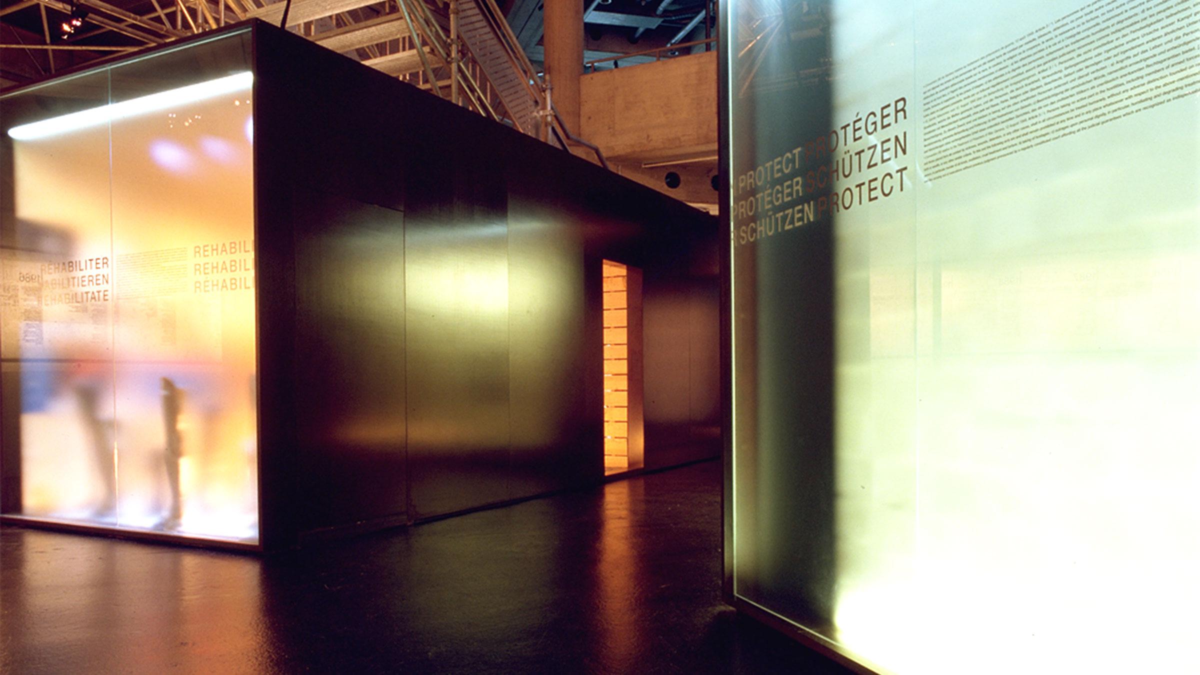 Dauerausstellung MICR Genf